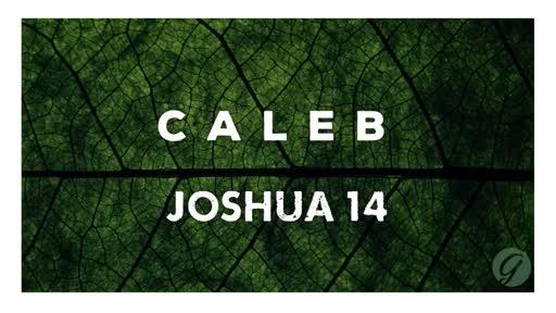Joshua 14 - Caleb: Follow God Fully