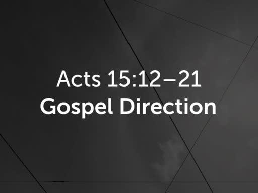 Gospel Direction