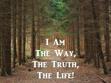I am the Way, the Truth, the Life