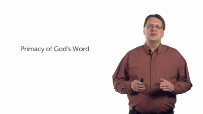 The Word and the Reformed Tradition