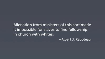 Black and White Spiritual Mutuality