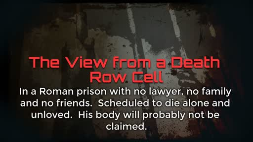The View from a Death Row Cell - 2/12/2017