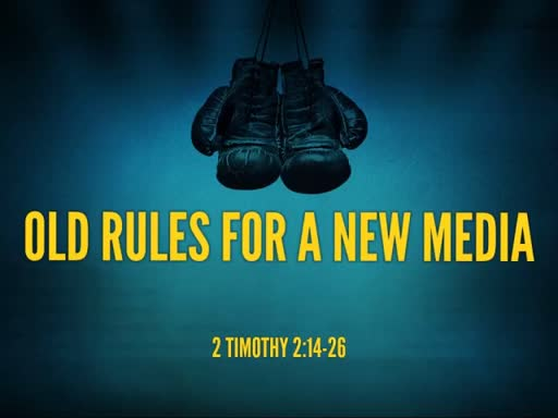 Old Rules for a New Media