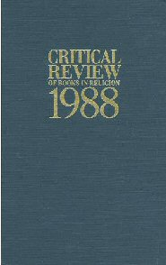 Critical Review of Books in Religion 1988