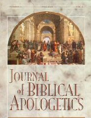 The Journal of Biblical Apologetics, vol. 1: Natural Theology