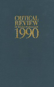 Critical Review of Books in Religion 1990