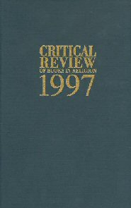 Critical Review of Books in Religion 1997