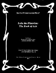 Luke the Historian: The Book of Acts