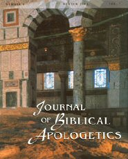 The Journal of Biblical Apologetics, vol. 7 Islam, part 3: The Qur'an