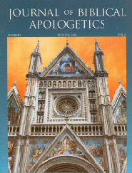The Journal of Biblical Apologetics, vol. 4 part 2: Modern Roman Catholicism