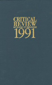 Critical Review of Books in Religion 1991