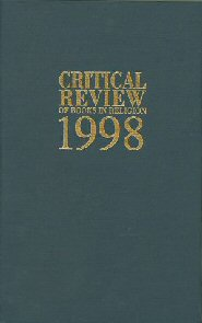 Critical Review of Books in Religion 1998