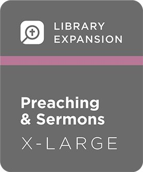 Logos 7 Preaching and Sermons Library Expansion, XL