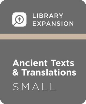 Logos 7 Ancient Texts and Translations Library Expansion, S