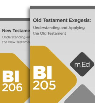 Mobile Ed: Biblical Exegesis Bundle (2 courses)