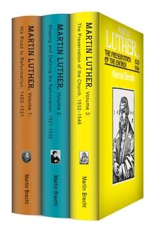 Martin Brecht's Martin Luther: A Biography (3 vols.)