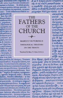 Theological Treatises on the Trinity