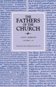 Saint Ambrose: Letters