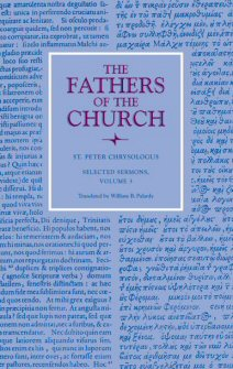 Selected Sermons of Saint Peter Chrysologus, vol. 3