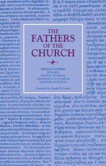 Iberian Fathers, vol. 1