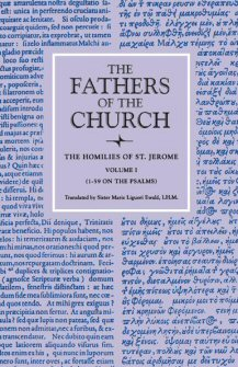 The Homilies of Saint Jerome, Volume 1 (1–59 on the Psalms)