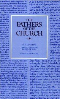Saint Augustine: Tractates on the Gospel of John 55–111