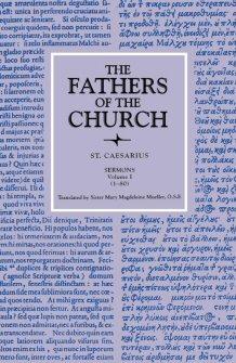 Saint Caesarius of Arles: Sermons, vols. I–III (1–238)