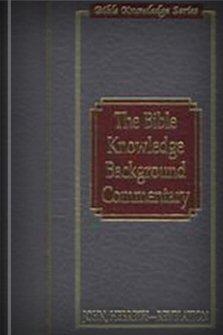 The Bible Knowledge Background Commentary: John's Gospel, Hebrews–Revelation
