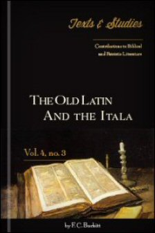 The Old Latin and the Itala