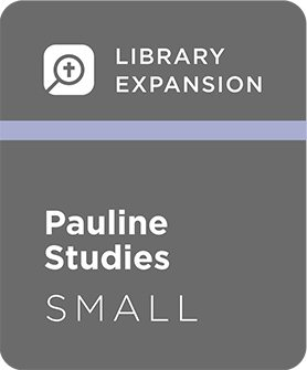 Logos 7 Pauline Studies Library Expansion, S