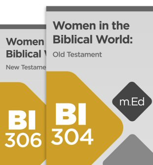 Mobile Ed: Women in the Biblical World Bundle (2 courses)