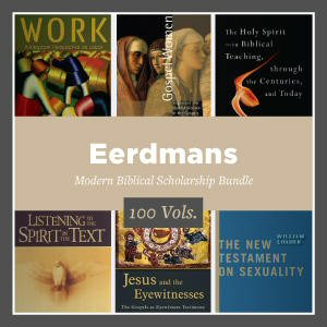 Eerdmans Modern Biblical Scholarship Bundle (100 vols.)