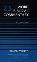 Roland E. Murphy, Word Biblical Commentary (WBC), Thomas Nelson, 1992, 170 pp.