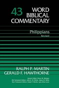 Gerald F. Hawthorne and Ralph P. Martin, Word Biblical Commentary (WBC), Thomas Nelson, 2004, 384 pp.