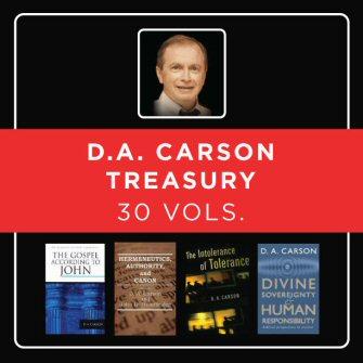 D.A. Carson Treasury (30 vols.)