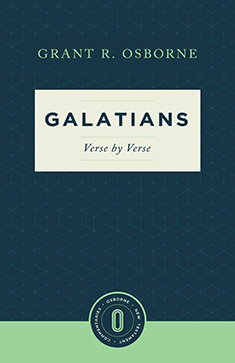 Galatians Verse by Verse (Osborne New Testament Commentaries)