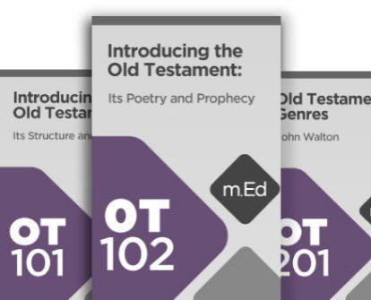 Old Testament Cornerstone Certificate Program