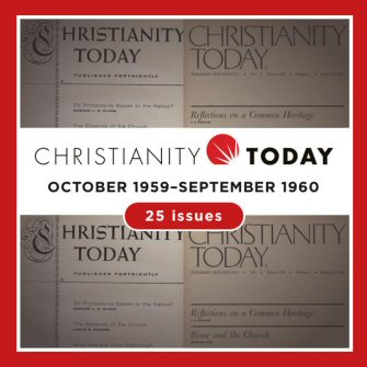 Christianity Today, vol. 4 (October 1959–September 1960) (25 issues)