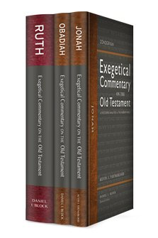 Zondervan Exegetical Commentary on the Old Testament (3 vols.)