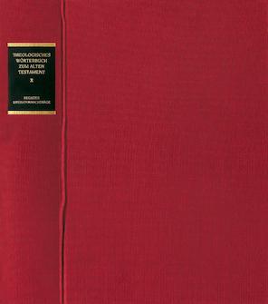 Theologisches Wörterbuch zum Alten Testament, Bd. IX: Aramäisches Wörterbuch