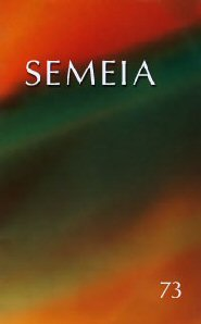 Semeia 73: Reading With: An Exploration of the Interface between Critical and Ordinary Readings of the Bible