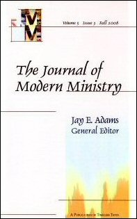 Journal of Modern Ministry, Vol. 5 Issue 3 Fall 2008