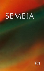 Semeia 89: Northrop Frye and the Afterlife of the Word