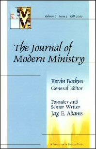 Journal of Modern Ministry, vol. 6 issue 3 Fall 2009