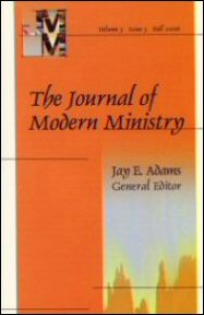Journal of Modern Ministry, Vol. 3 Issue 3 Fall 2006