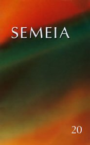 Semeia 20: Pronouncement Stories