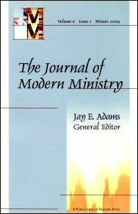 Journal of Modern Ministry, Vol. 6 Issue 1 Winter 2009