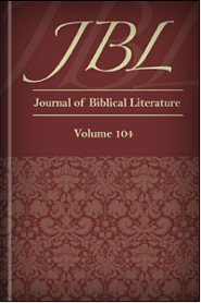 The Journal of Biblical Literature, vol. 104