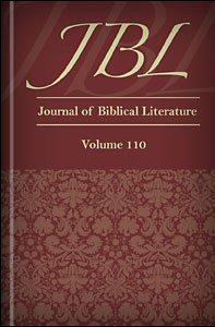 The Journal of Biblical Literature, vol. 110