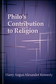 Philo's Contribution to Religion